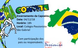 Convite Capoeira!