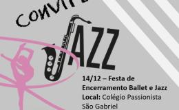 Convite Jazz & Ballet!